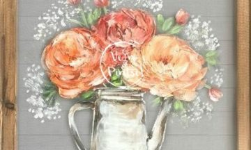 VÕRKKUNST – Lilled vaasis