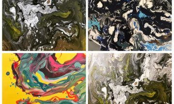 ACRYLIC POURING – 17 September